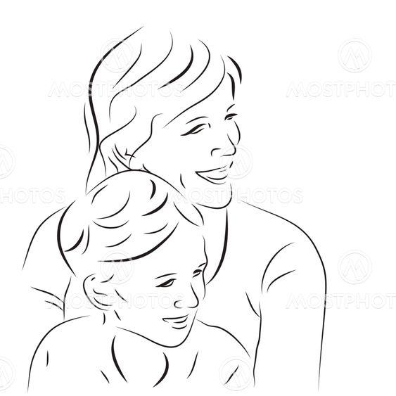 Nainen ja hänen poikansa