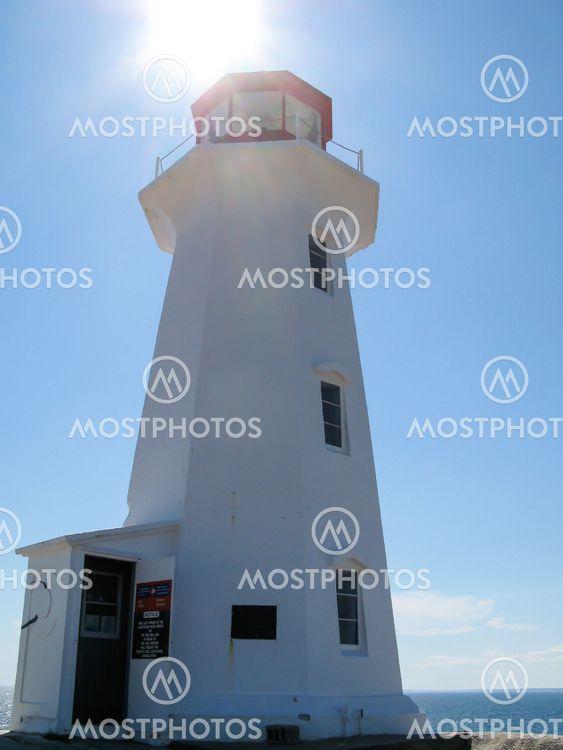 Lighthouse in Backlight
