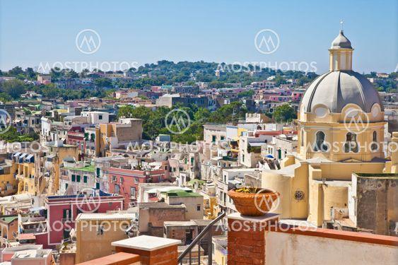 Napoli–Procida–Ischia näkymän