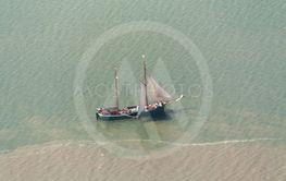 Crab Cutter, Aerial Photo of the Schleswig-Holstein...