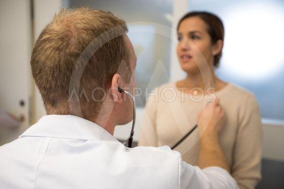 Undersökning av patient