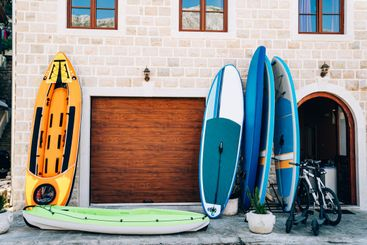 Sports travel equipment rental store - rubber boats,...