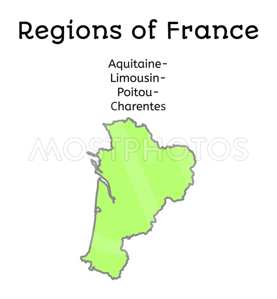 Poitou France Map.France Administrative Map O By Shmittmaria Mostphotos