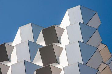 modern facade elements