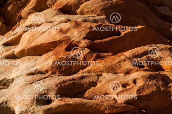 Eroded Sandstone Rock
