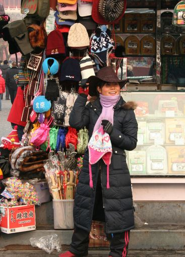 Changing hat in China