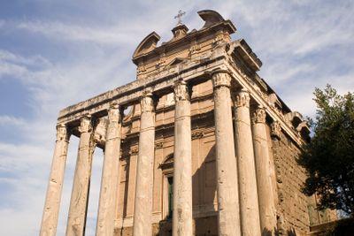 Temple on forum