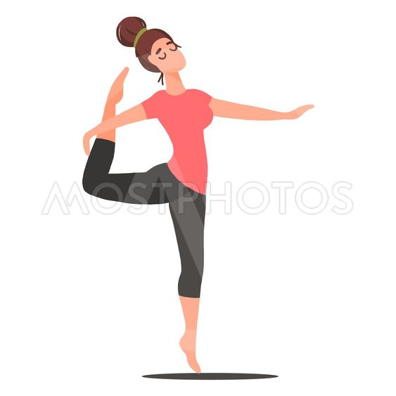 01 Woman doing yoga