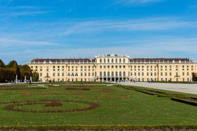 Vienna - OCTOBER 14: Schonbrunn Palace on October 14 in...