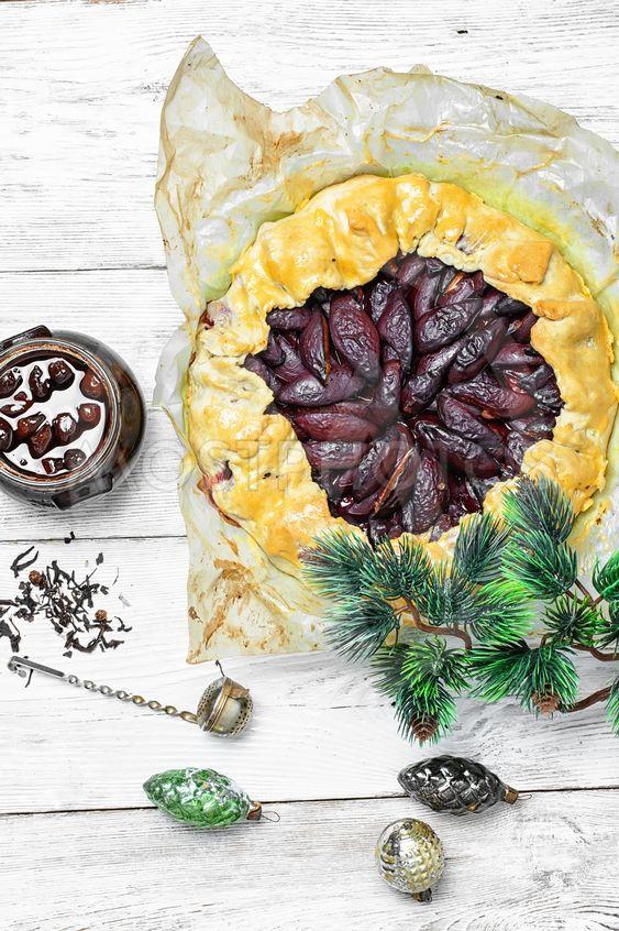 plum cake for Christmas