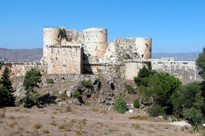 Krak De Chevalier Crusaders Fortress