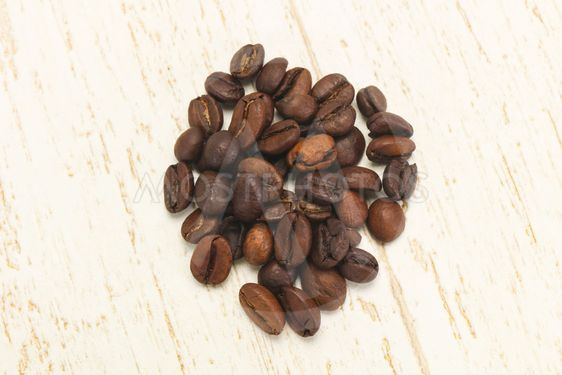 Roasted coffee beans for cooking