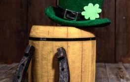 Leprechaun hat barrel