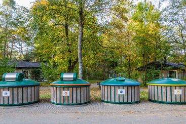 Recycle bins to seperate waste  for reuse