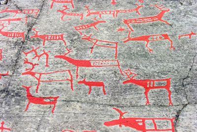 The rock art in Alta