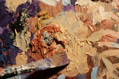art, brush, paintbrush