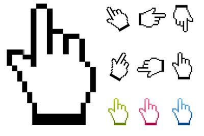 Cursor hand