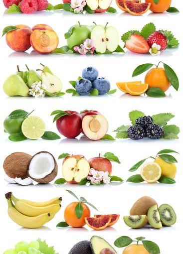 Fruits apple orange berries apples oranges banana grapes...