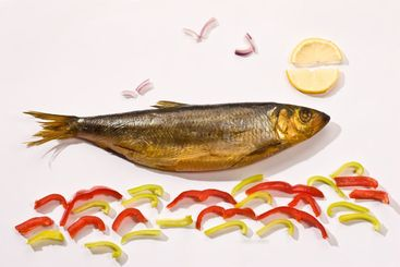 smoked herring