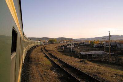 Transibiriska järnvägen i Mongoliet