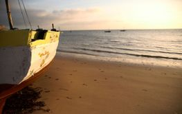 seascape and dhow ii
