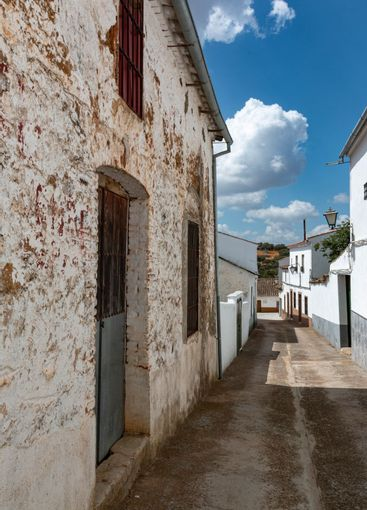 Towns of Andalusia in Spain