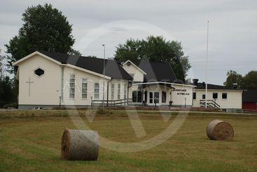Vy från den lilla byn Ingarp i Småland  (Sweden)