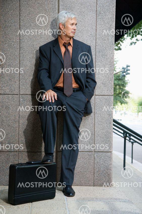 Businessman portrait.