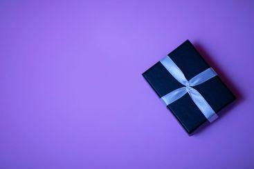 Small rectegular black gift box