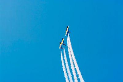 L-39 jet aerobatic team <Rus> on flight - 5