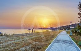 Sunset on the Aegean Sea, Chalkidiki, Greece