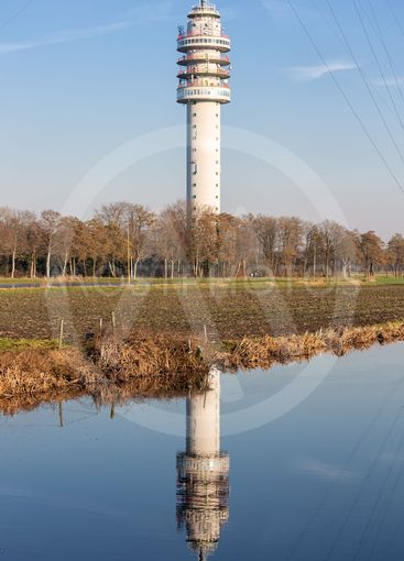 Dutch TV and radio tower in Smilde