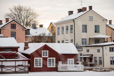 Winter in Eskilstuna