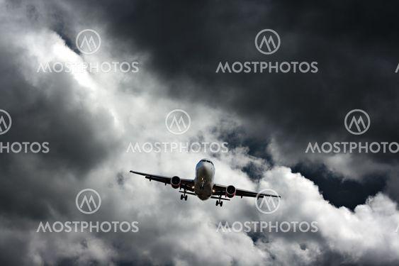 Passager fly på endelige tilgang