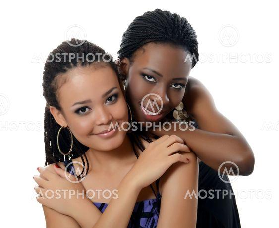 Musta tyttö ystäviä kuvia