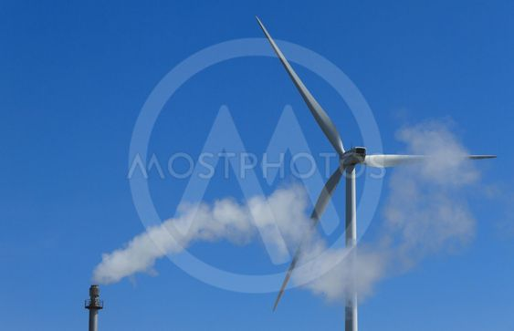 Wind and fossil energy
