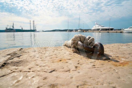 Mooring for boats in Croatia