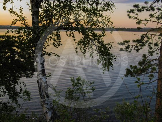 Järvi lapissa