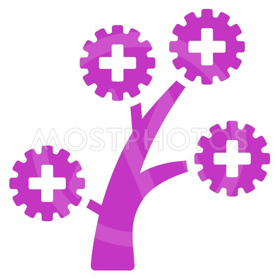 Medical Technology Tree Icon