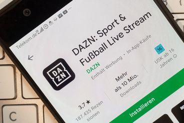 DAZN - mobile App