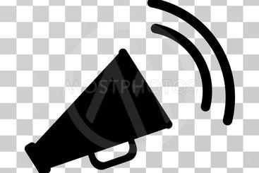 Announce Horn Vector Icon