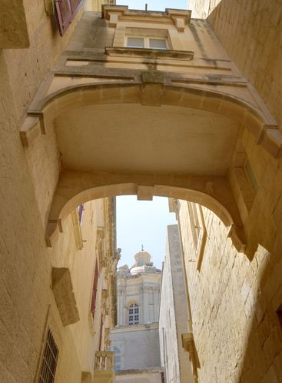House Bridge in Mdina HDR