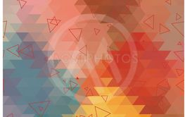 Geometric vector triangle abstract background