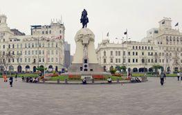 Panorama of Lima, Peru