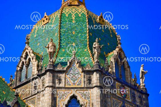 Unkari, budapest: Taideteollisuusmuseo