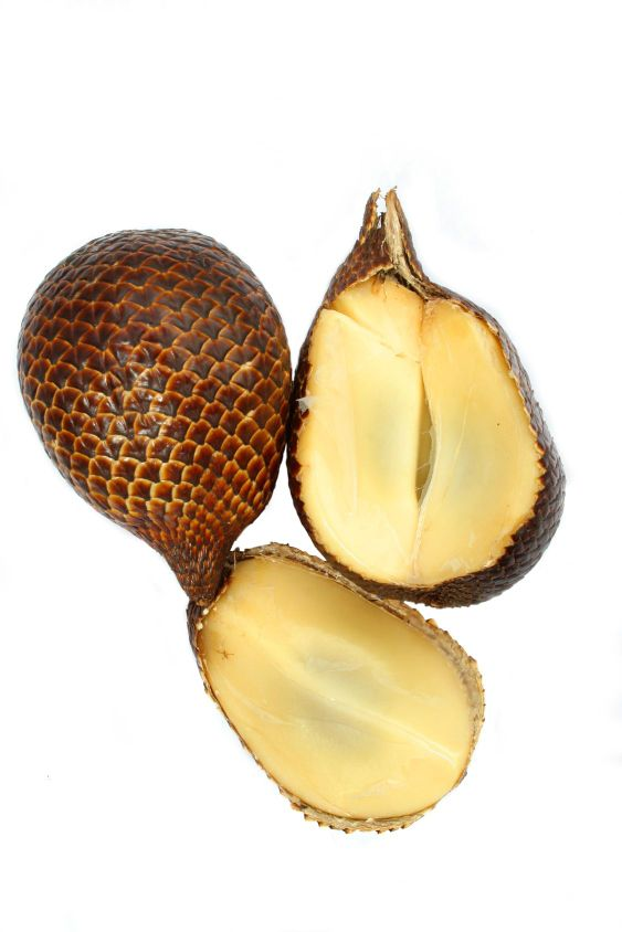 salak fruit or snake fruit