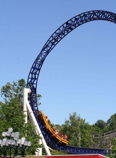 Rollercoaster Kanonen and Topphjulet
