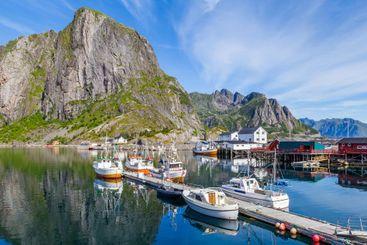 Hamnoy Lofoten Islands, North Norway