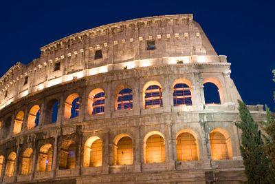 Rome Coliseum closeup