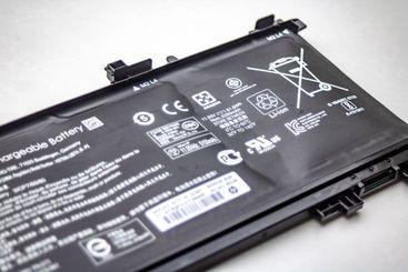 Swollen notebook battery